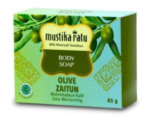mustika ratu olive zaitun body soap