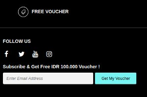 voucher the f thing pengguna baru