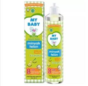 My Baby Minyak Telon Plus perlengkapan sesudah mandi bayi