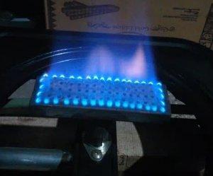 burner kompor gas sangrai kopi