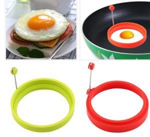 silikon cetakan omelet cincin