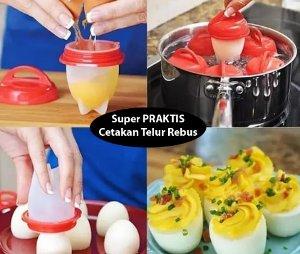 cetakan telur rebus praktis