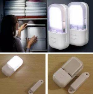 lampu lemari otomatis nyala sendiri