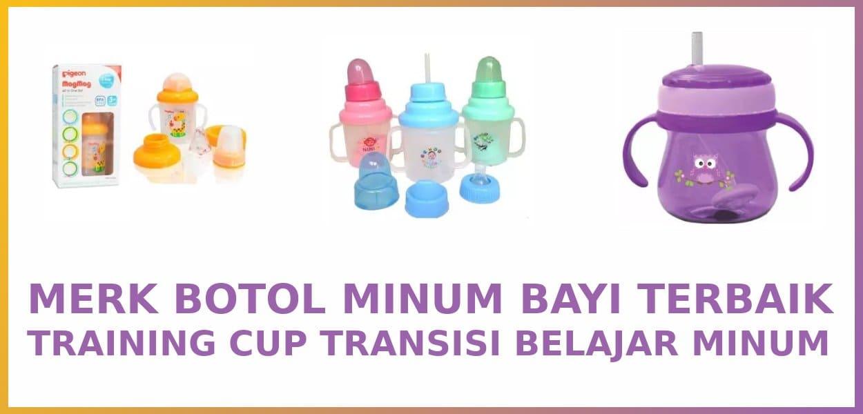 5 Merk Gelas Minum Bayi Training Cup Terbaik