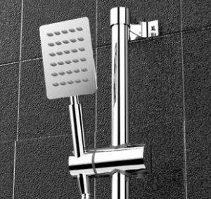 wall shower premium set paket lengkap