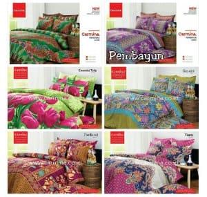Bedcover Motif Batik Carmina