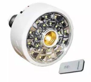 Lampu Emergency Plafon Remote Control