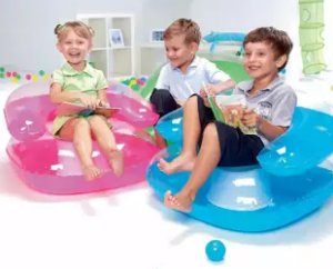 Sofa Angin Anak Transparan Unik