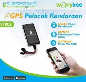 SuperSpring VT90Z GPS Pelacak Kendaraan