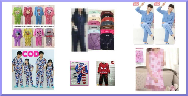 10+ Baju Tidur Terbaik Untuk Anak dan Dewasa