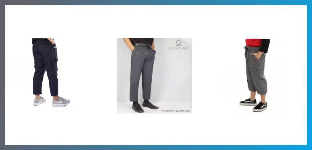 merk celana sirwal terbaik untuk di kantor dan di rumah
