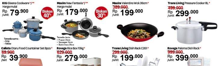 Katalog Carrefour Peralatan Masak
