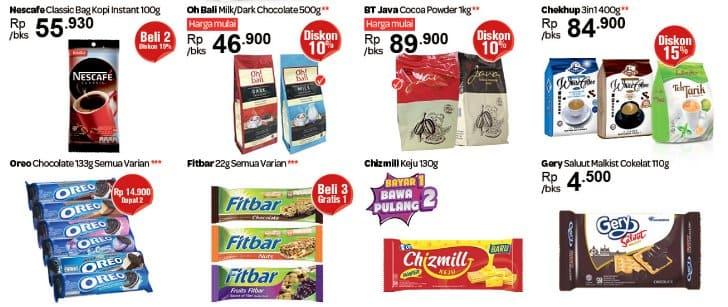 Promo transmart Cemilan Beli 2 Gratis 1