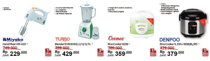 Promo carrefour Magic Com Rice Cooker Murah