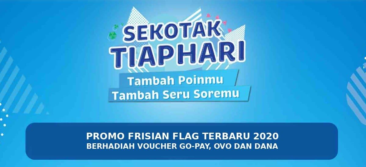 promo frisian flag berhadiah voucher gopay ovo dan dana