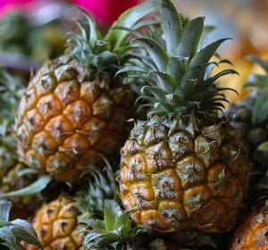 buah nanas bebas kimia