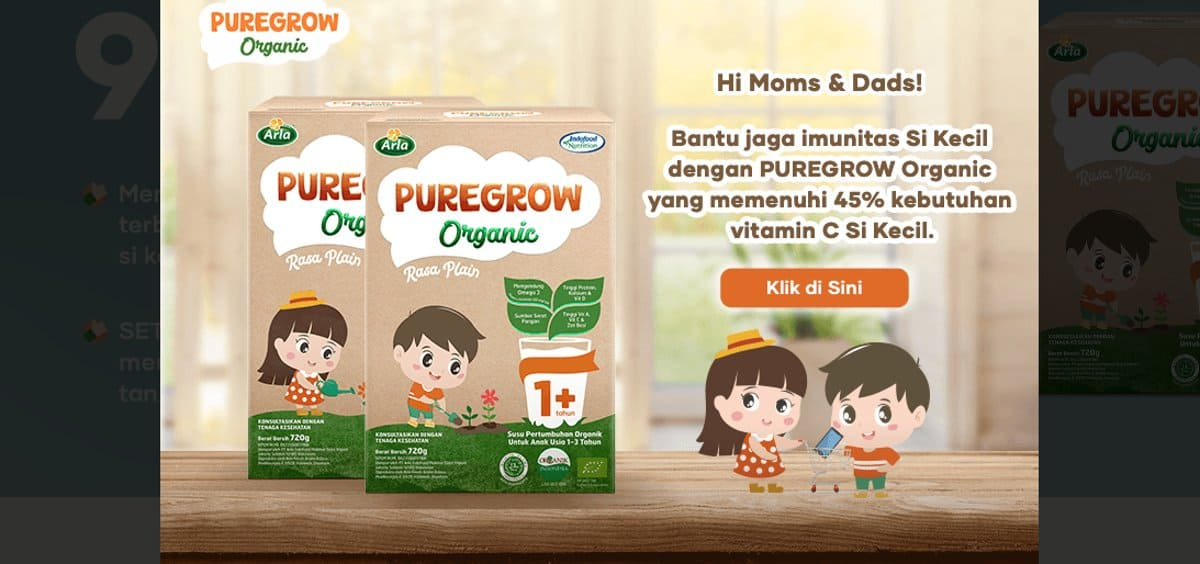 Promo Susu Puregrow Gratis Hingga Desember 2020