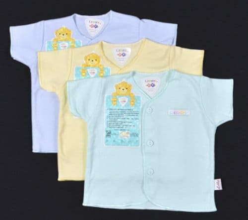 Baju Bayi Perempuan dan Laki-laki libby standar sni