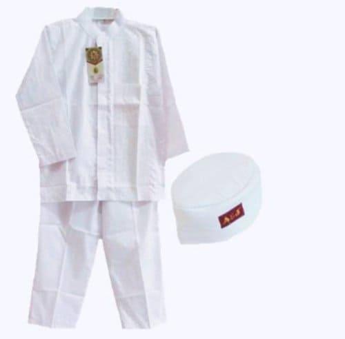 Baju Koko Anak Putih terbaru