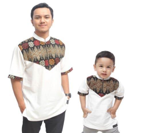 Baju Koko Batik Couple Ayah dan Anak terbaru