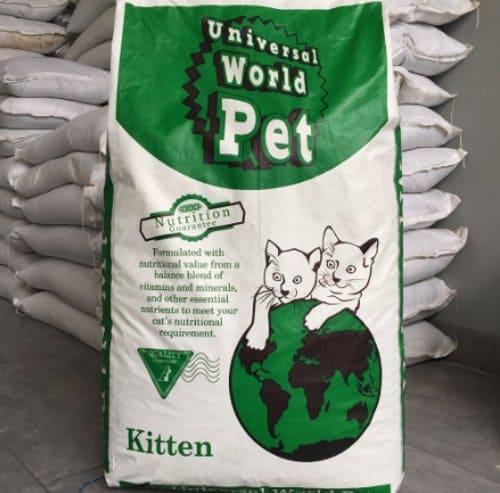 Makanan Anak Kucing Universal World Pet
