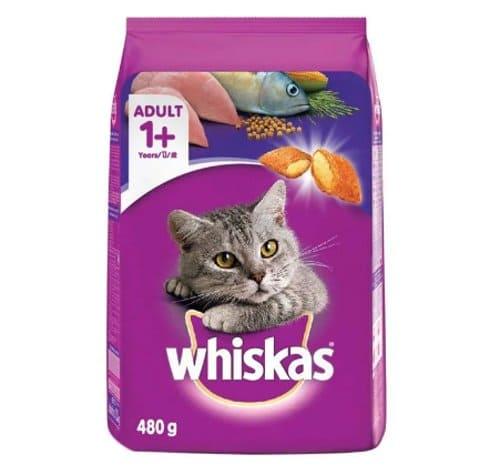 Makanan Kucing Whiskas Basah Rasa Mackerel
