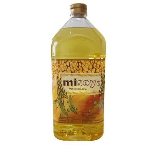 Misoya Soya Oil terdaftar bpom