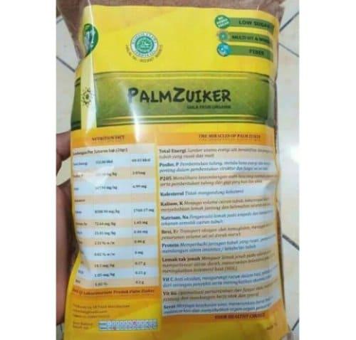 Palm Zuiker Organik