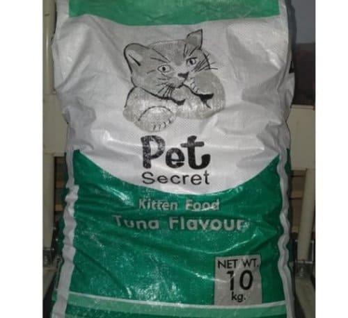 Pet Secret Kitten Food Tuna Flavour