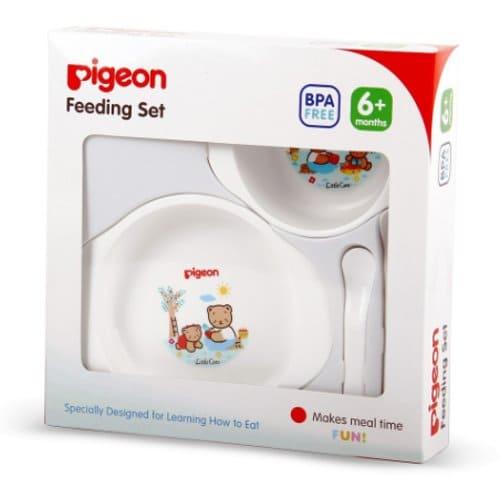 alat makan bayi pigeon 6 bulan keatas
