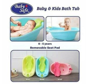 baby safe baby and kids bath tub