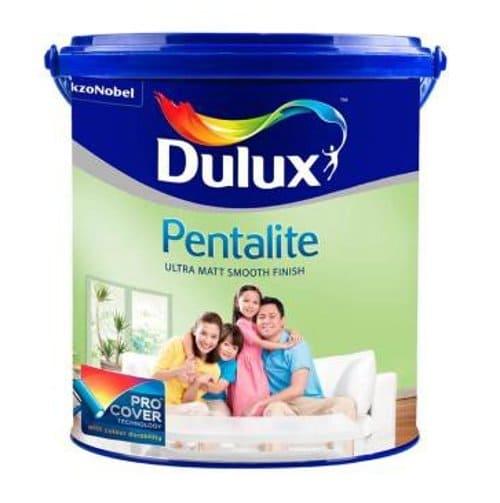 cat rumah minimalis Dulux Pentalite