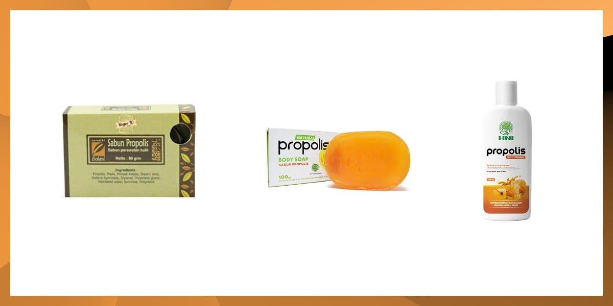 merk sabun propolis terbaik terdaftar bpom