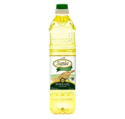 minyak kedelai sania soya oil terbaru