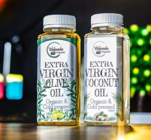 Wakanda organic virgin coconut oil