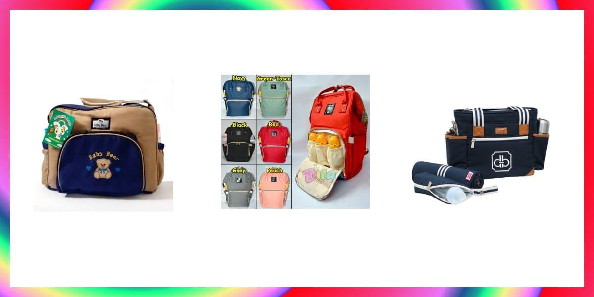 tas bayi terbaik ukuran besar dan kecil ransel dan slempang