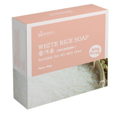Hanasui White Rive Soap terbaru