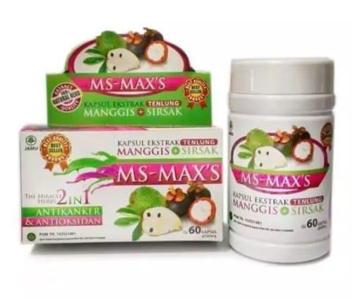 MS-MAX'S Manggis Plus Sirsak