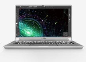 MSI Creator 17 Laptop Desain Grafis