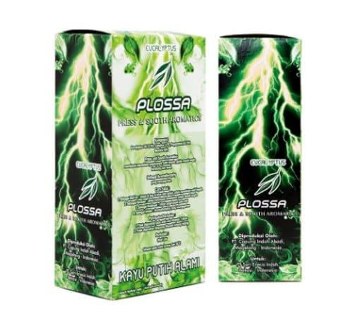 Plossa Eucalyptus 4in1 Aromatherapy minyak angin terbaik