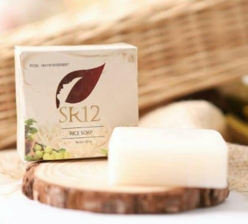 SR12 Rice Soap