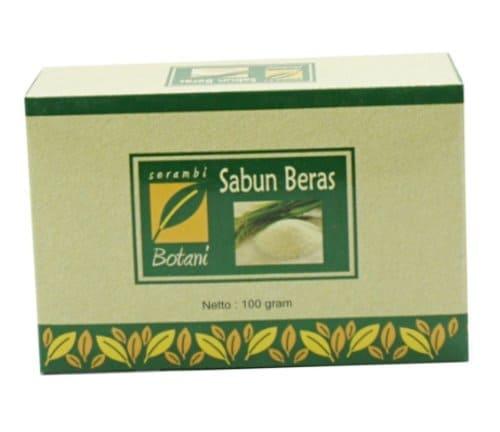 Sabun Beras Organik Serambi Botani
