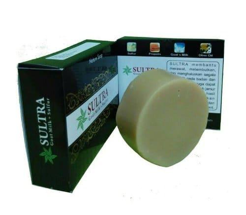 Sabun Sulfur Sultra Plus Susu Kambing