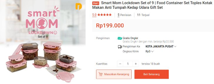 smart mom lockdown anti tumpah