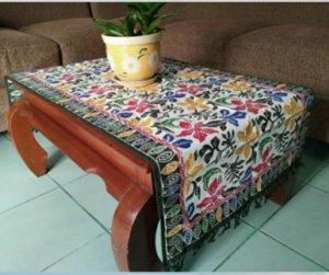 Taplak Meja Batik Cuiri Untuk Ruang Tamu