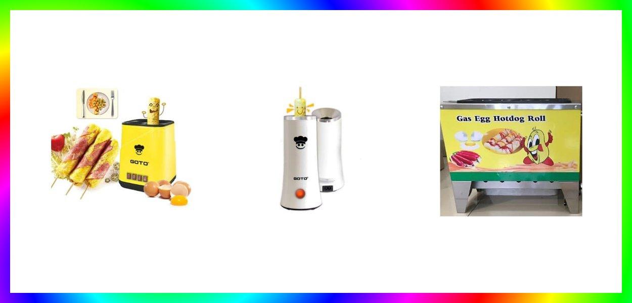 mesin sostel alat pembuat sosis telur terbaik