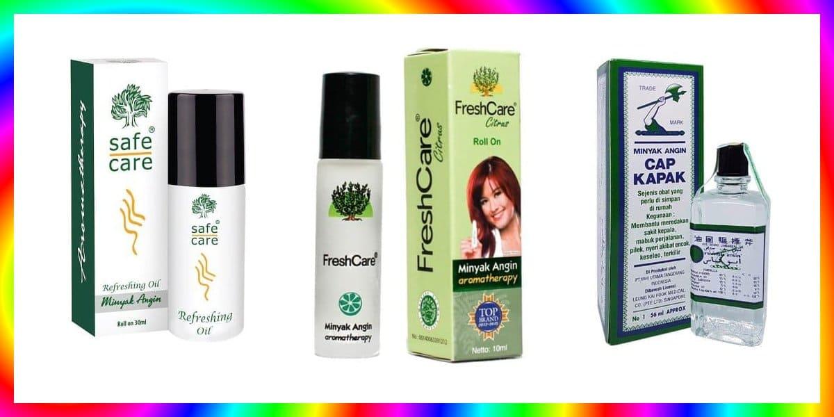 7 Minyak Angin Terbaik Aromatherapy Menyegarkan