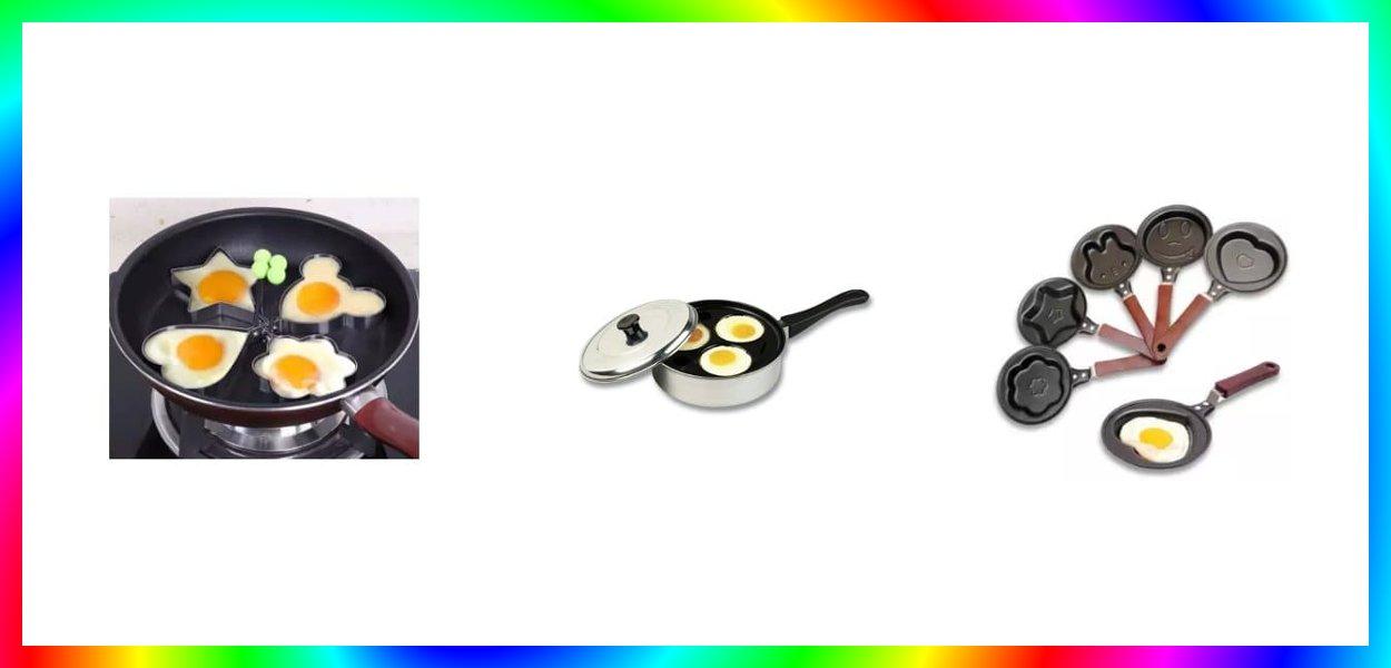 7 Bentuk Cetakan Telur Terbaik Rebus dan Goreng