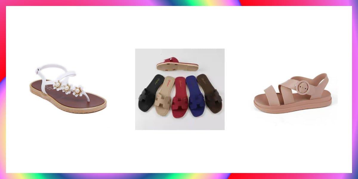 model sandal jelly wanita dewasa terbaik