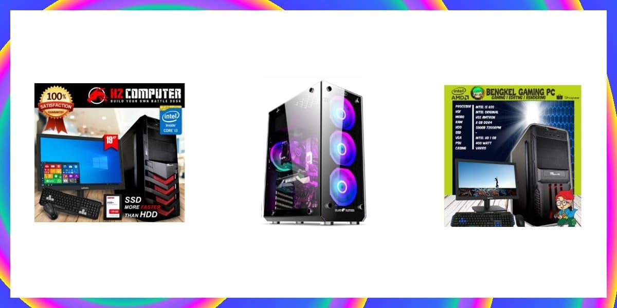 7 PC Rakitan Murah Untuk Gaming dan Sekolah